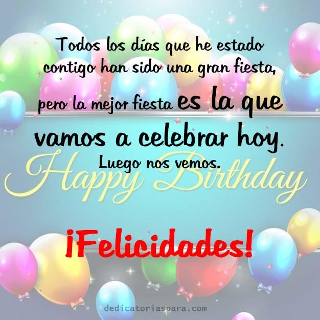 Imagen Para Compartir Con Frase De Cumpleaños