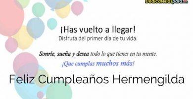 Feliz Cumpleaños Hermengilda