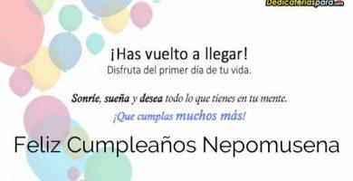 Feliz Cumpleaños Nepomusena