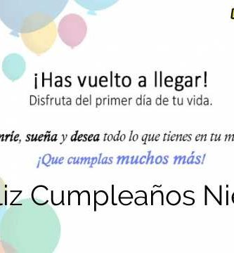 Feliz Cumpleaños Nieto