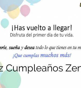 Feliz Cumpleaños Zenona