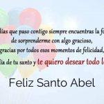 Feliz Santo Abel