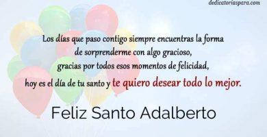 Feliz Santo Adalberto