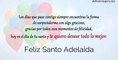 Feliz Santo Adelaida
