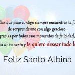 Feliz Santo Albina