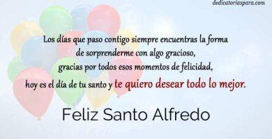 Feliz Santo Alfredo