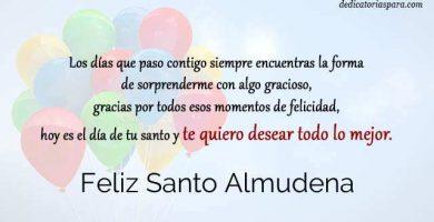 Feliz Santo Almudena