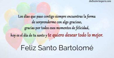 Feliz Santo Bartolomé