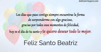Feliz Santo Beatriz