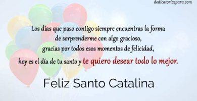 Feliz Santo Catalina
