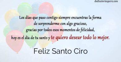 Feliz Santo Ciro