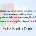 Feliz Santo Dario