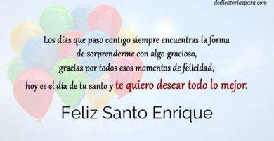 Feliz Santo Enrique