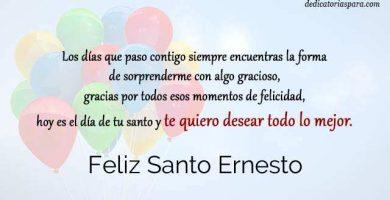 Feliz Santo Ernesto