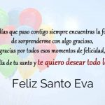 Feliz Santo Eva