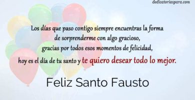 Feliz Santo Fausto