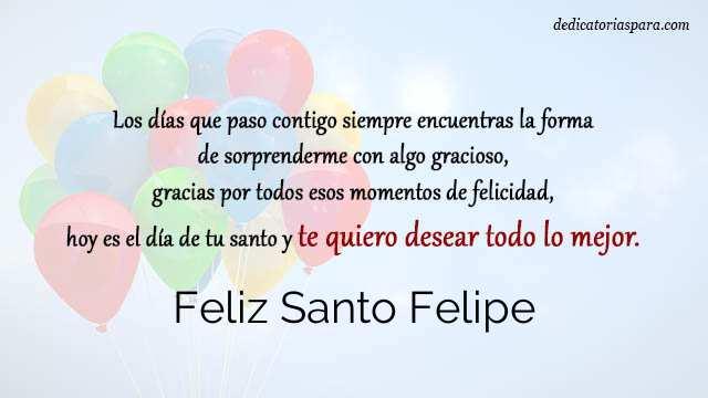 Feliz Santo Felipe