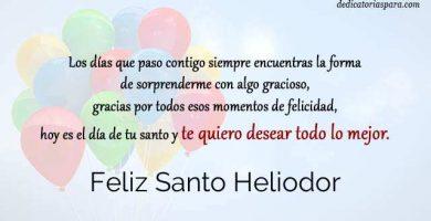 Feliz Santo Heliodor