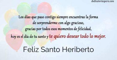 Feliz Santo Heriberto
