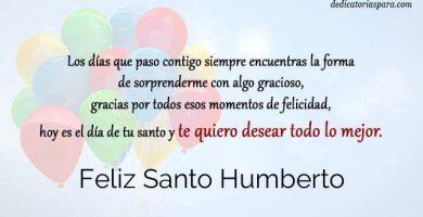 Feliz Santo Humberto