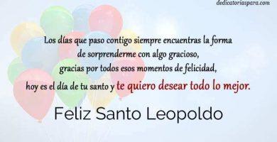 Feliz Santo Leopoldo