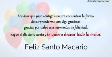 Feliz Santo Macario
