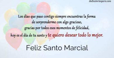 Feliz Santo Marcial