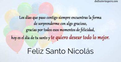 Feliz Santo Nicolás