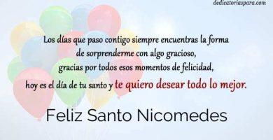 Feliz Santo Nicomedes
