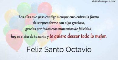 Feliz Santo Octavio