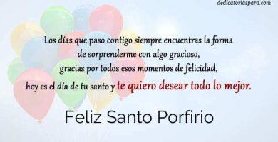 Feliz Santo Porfirio