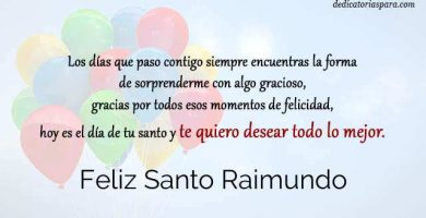 Feliz Santo Raimundo