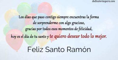 Feliz Santo Ramón