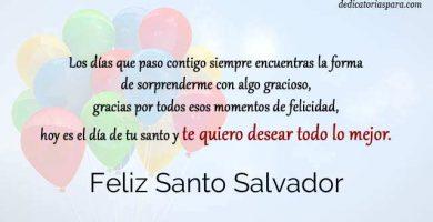 Feliz Santo Salvador