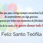 Feliz Santo Teófila