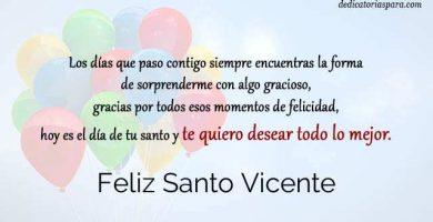Feliz Santo Vicente