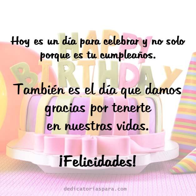 Imagen Con Frases De Feliz Cumpleaños