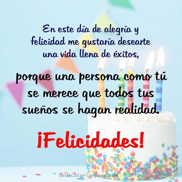 Imagen Con Texto Feliz Cumpleaños Amigo