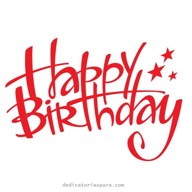 Imagen De Feliz Cumpleaños En Ingles