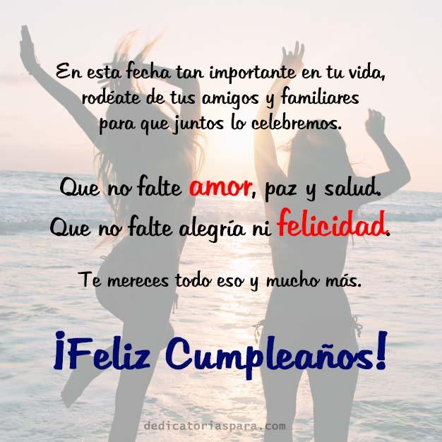 Imagen Feliz Cumpleaños Mejor Amiga