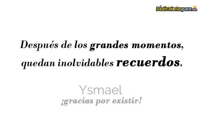 Ysmael